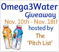 Omega 3 Flavored Water http://momndaughtersavings.com/omega-3-water-a-pitch-list-giveaway/#