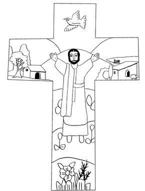Ostern Manualidades Cristianas Manualidades Escolares Dominicales Cruces Decorativas