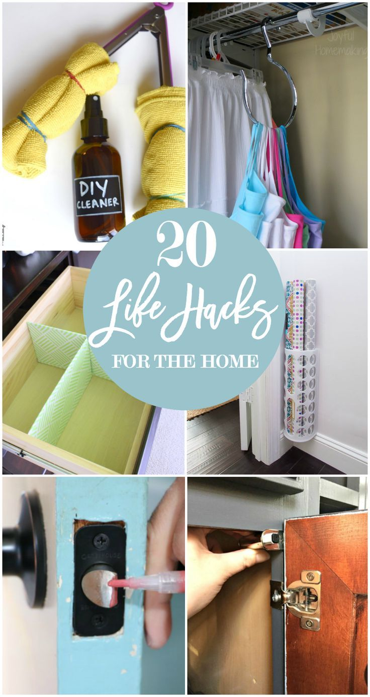20 life hacks for your home lifehacks life hacks and simple life