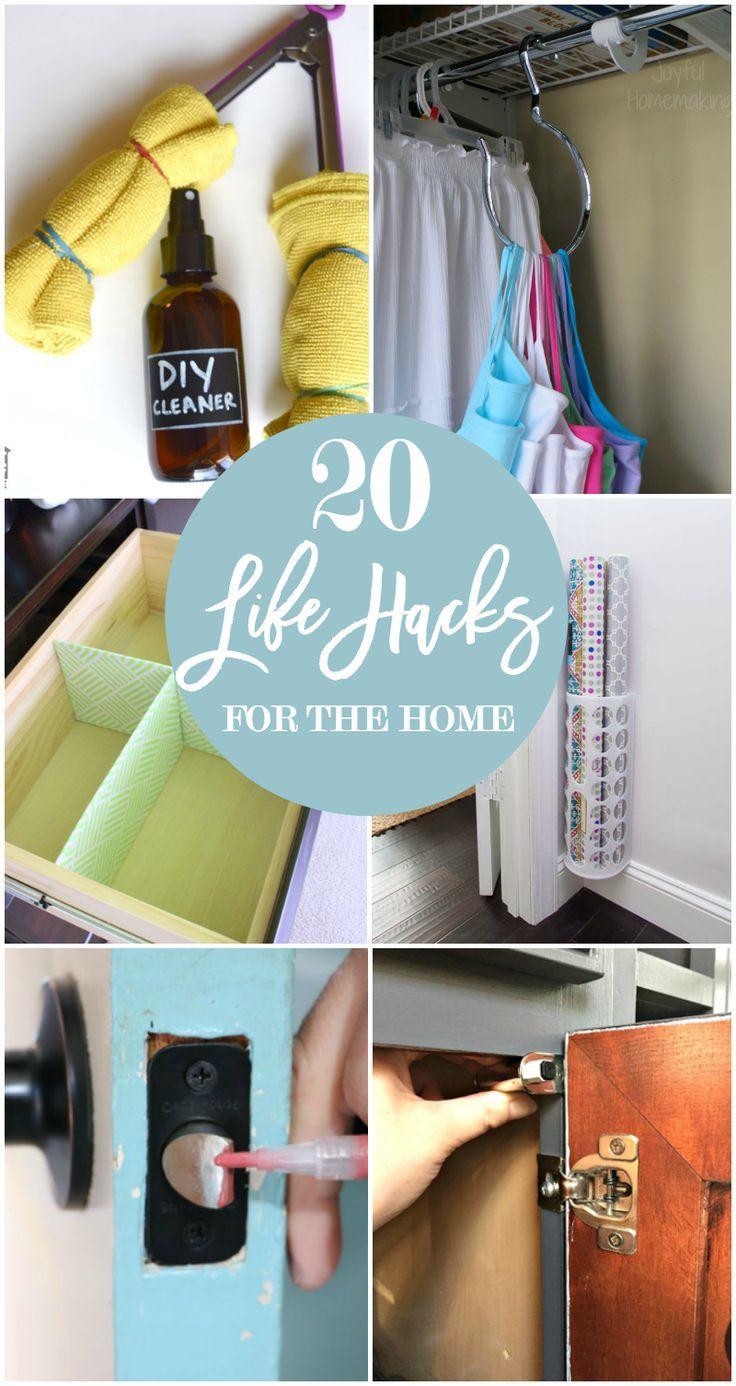 20 life hacks for your home lifehacks life hacks and simple life