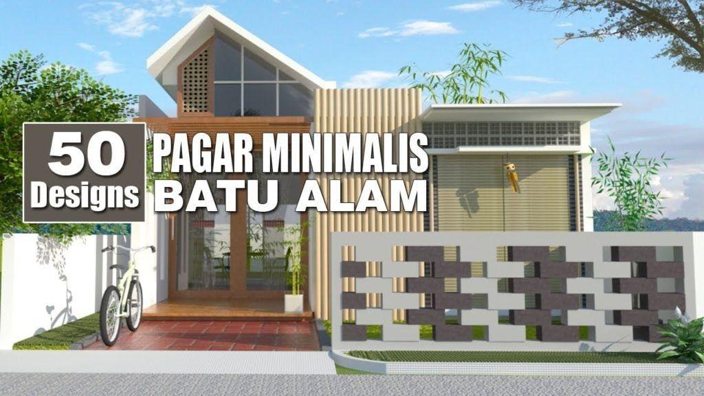 Pagar Minimalis Batu Alam Arcadia Desain Rumah Minimalis Minimalis Rumah