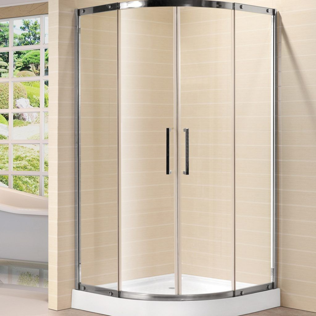 Curved Glass Shower Door Rollers Glass Doors Pinterest Shower