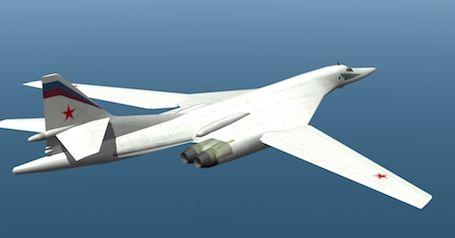 """Tupolev TU-160 """"Blackjack"""" long range strategic bomber, and cruise missile launcher. © Aerobuzz.fr"""