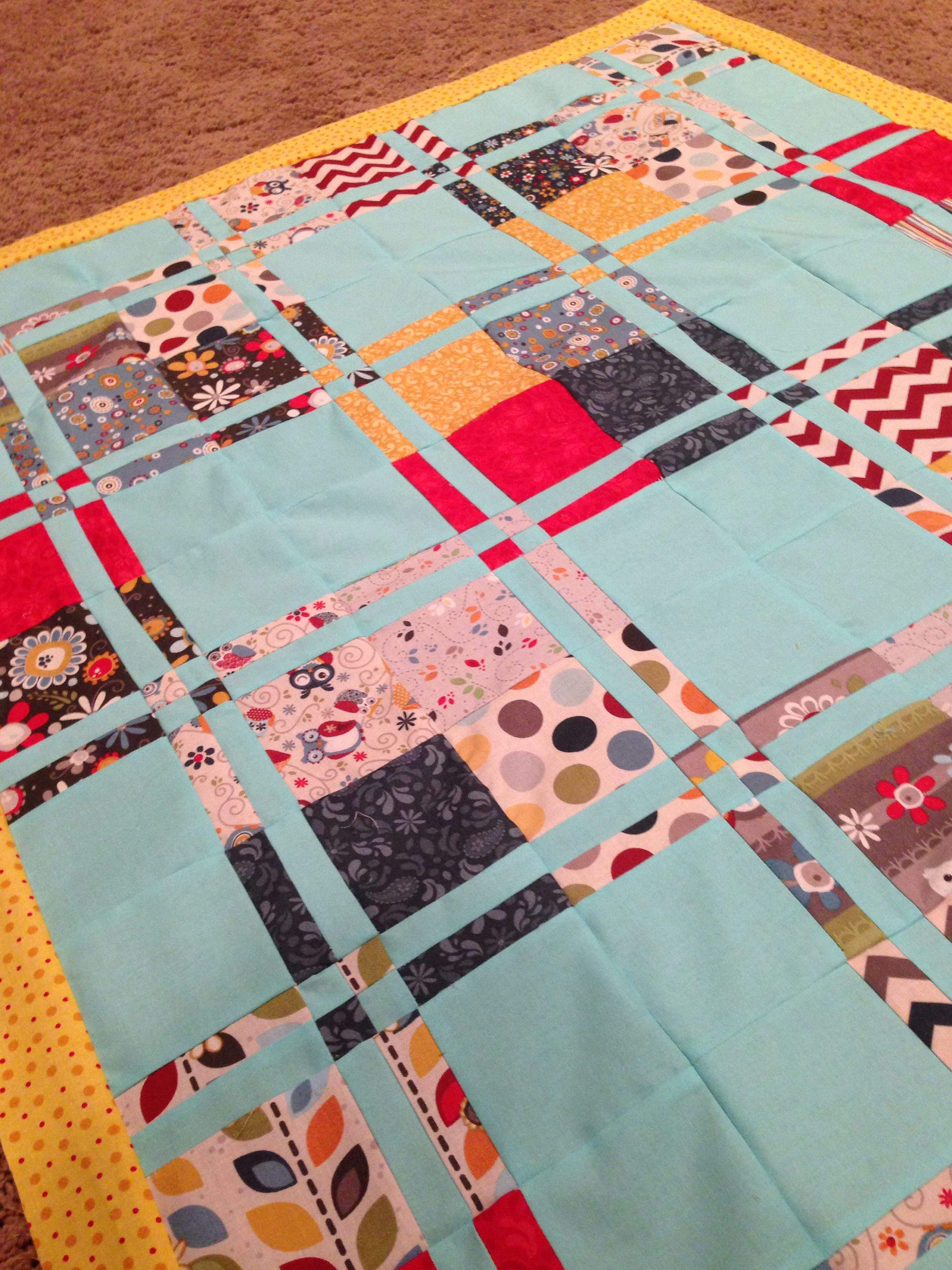 Disappearing 4-patch Quilt Pattern by MSQC - Missouri Quilt Co
