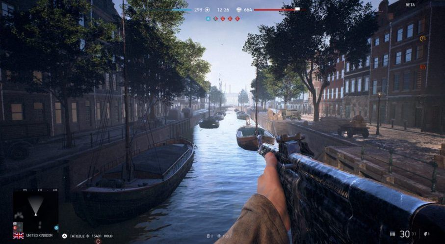 Battlefield 5 Rotterdam Map Comparison To Real Life Battlefield