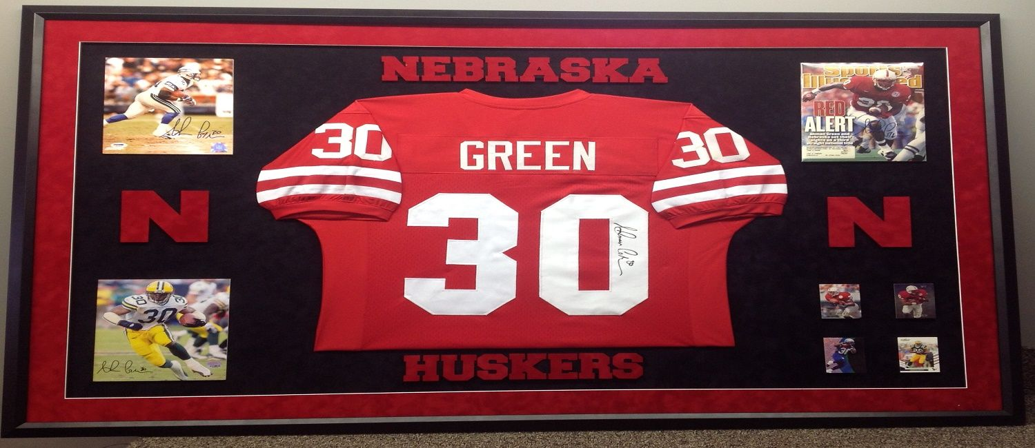 Talented The Right Materials For Your Jersey Framing Design, We ...