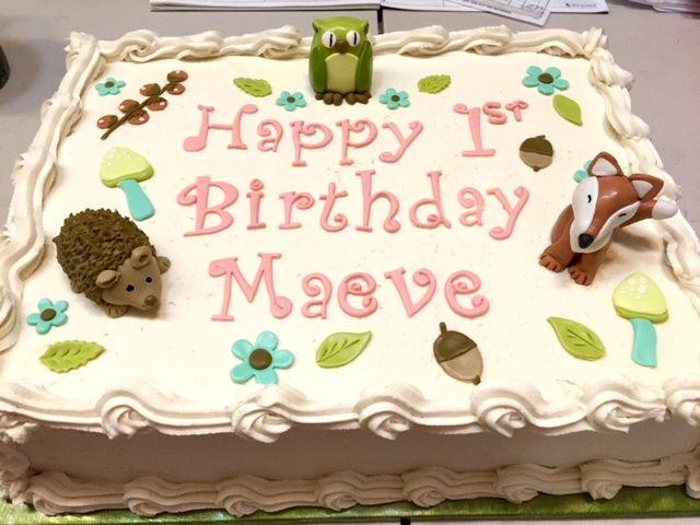 Vegan Strawberry Birthday Cake