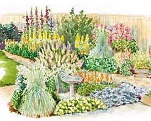 Flower Bed Plans   Outdoor Furniture Plans