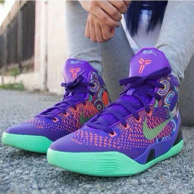 Kobe 9 Elite Purple Venom | Sneakers nike, Sneakers, Air ...