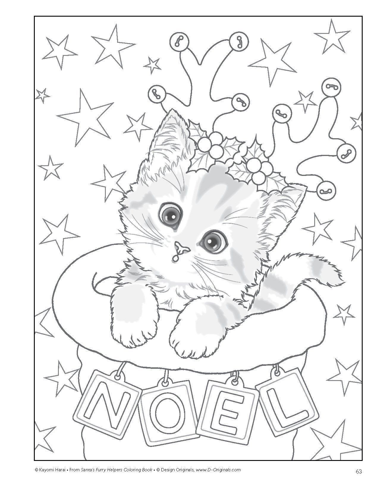 Kitty Cat Coloring Pages Elegant Coloring Book Astonishing Christmas Cat Coloring Pages Picture In 2020 Kitty Coloring Christmas Coloring Sheets Disney Coloring Pages