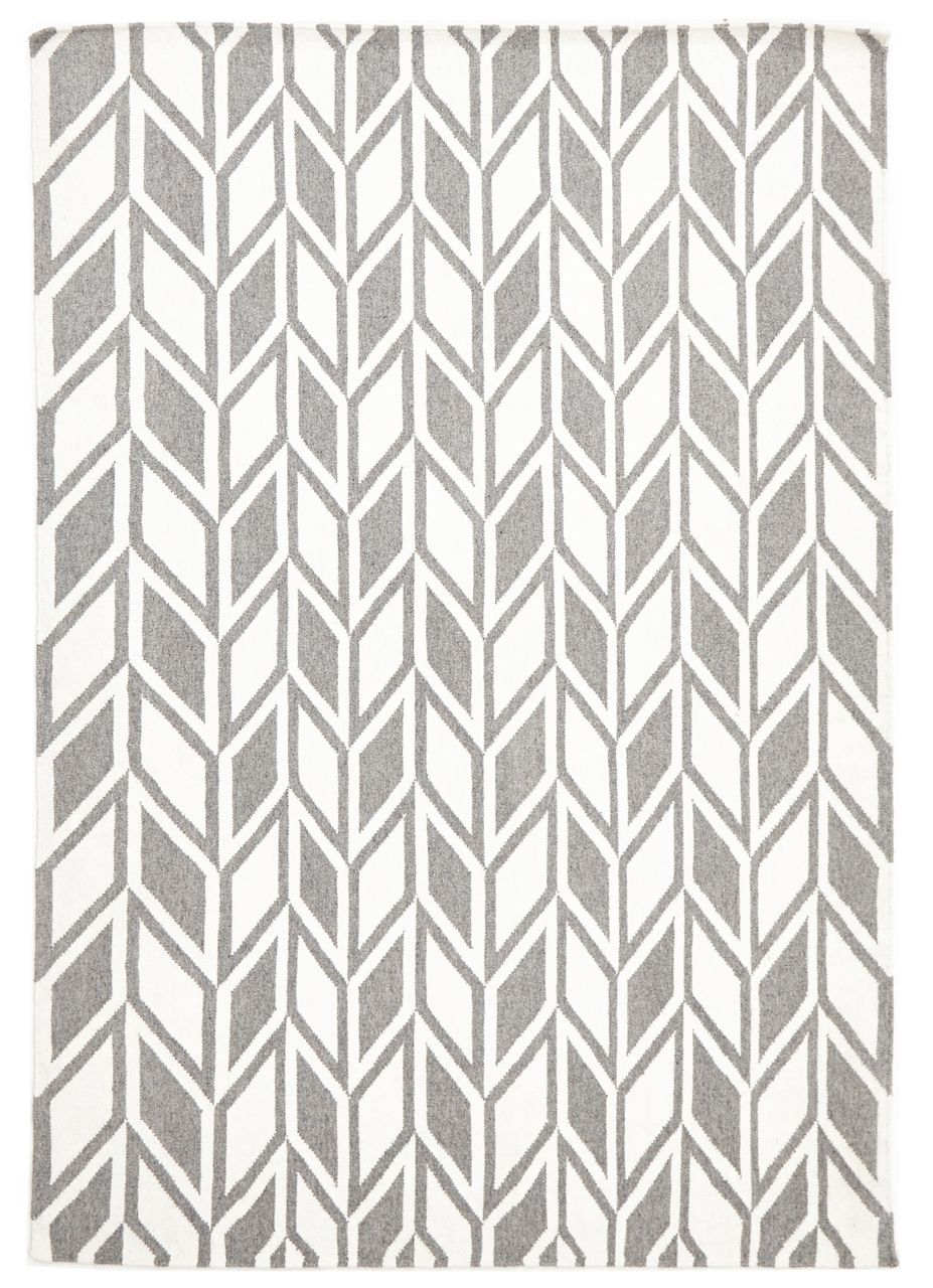 The Aria Grey Flat Weave Rug Is A Beautiful Modern Wool Floor With An Artistic Inviting Pattern Muted Colour Palette And Simplicity Of Design