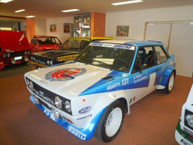 Fiat 131 Abarth Drive By Walter Rhol Rally Car Fiat Fiat Abarth