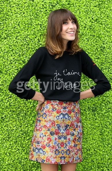 News Photo: Alexa Chung hosts the launch of the Annual…