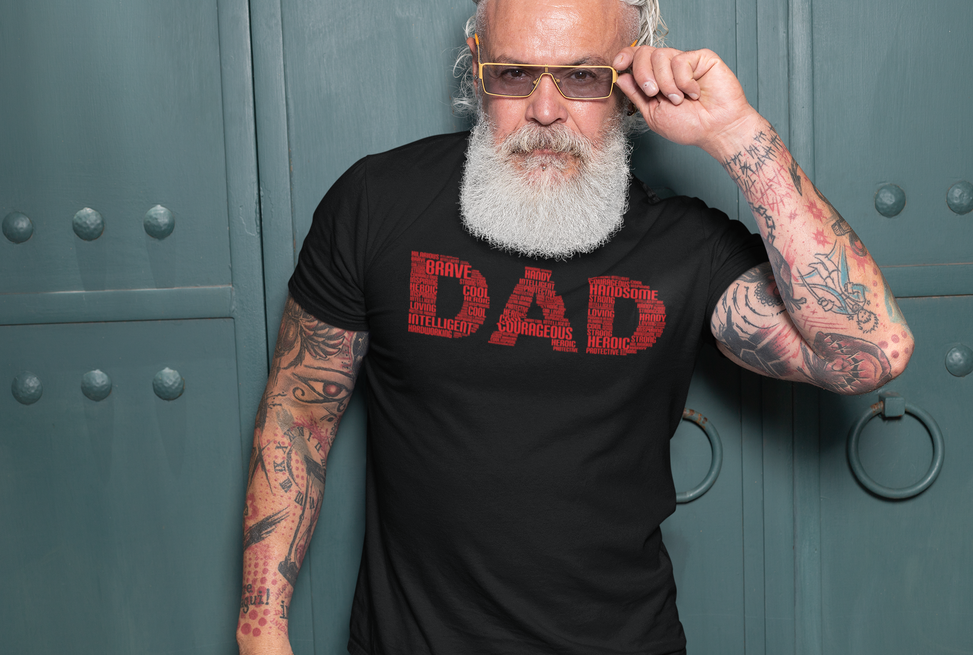 Our unique DAD statement is print on our premium unisex pre-shrunk tee. Feel free to email us at info@empoweredtee.com for sizing help, we would be happy to assist. Sizing Guide XS S M L XL 2XL 3XL 4XL - - BODY WIDTH 16.5 18 20 22 24 26 28 30 - - FULL BODY LENGTH 27 28 29 30 31 32 33 34 - - SLEEVE LENGTH 8 8.25 8.63 9.13 9.63 10.25 - - - -