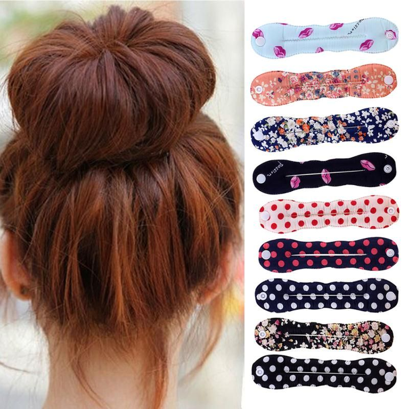 Click To 2017 Rushed Female Hair Accessories Tools Sponge Cloth Braided