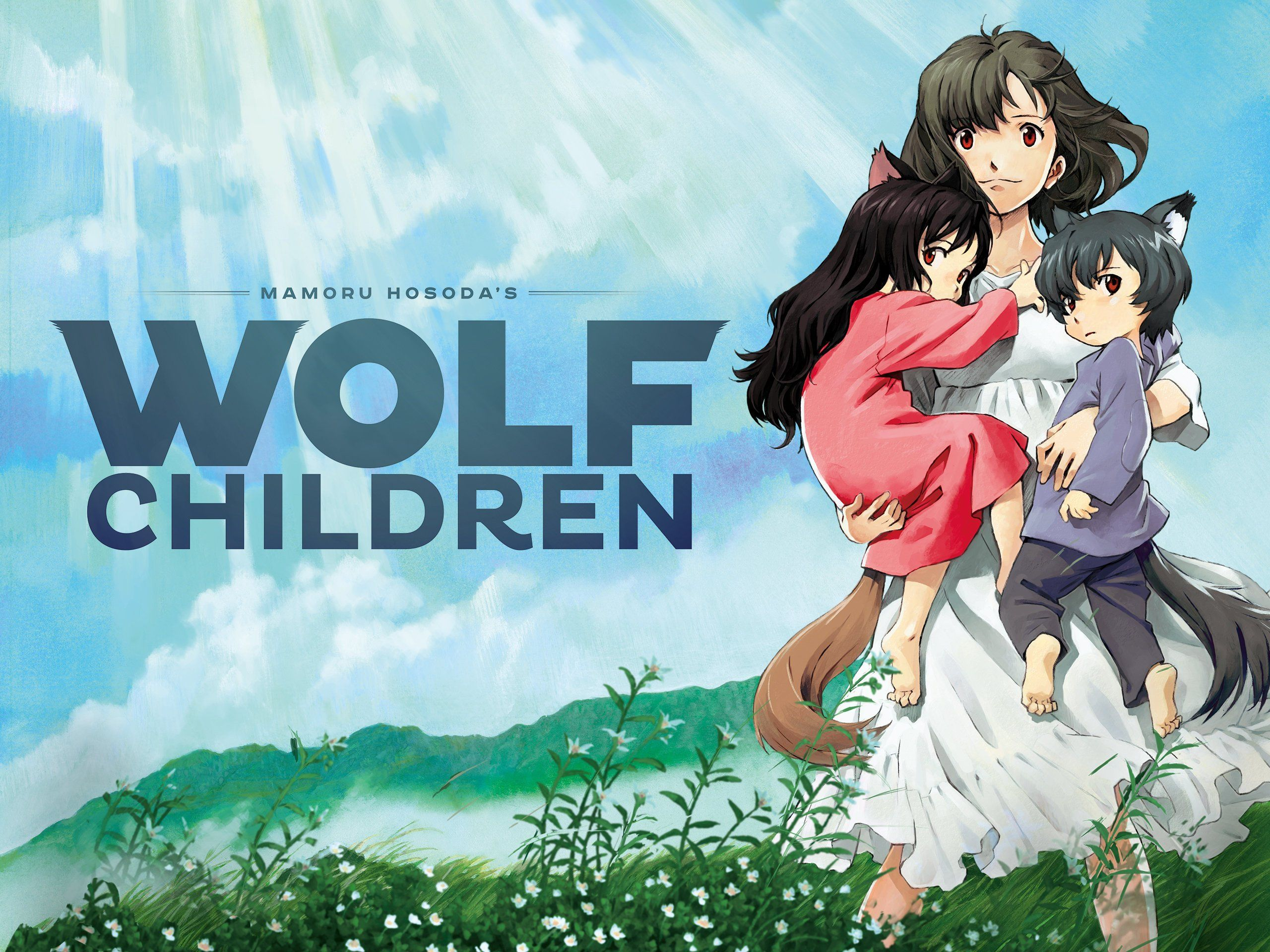 Hana, Yuki, & Ame from Wolf Children Wolf children, Wolf