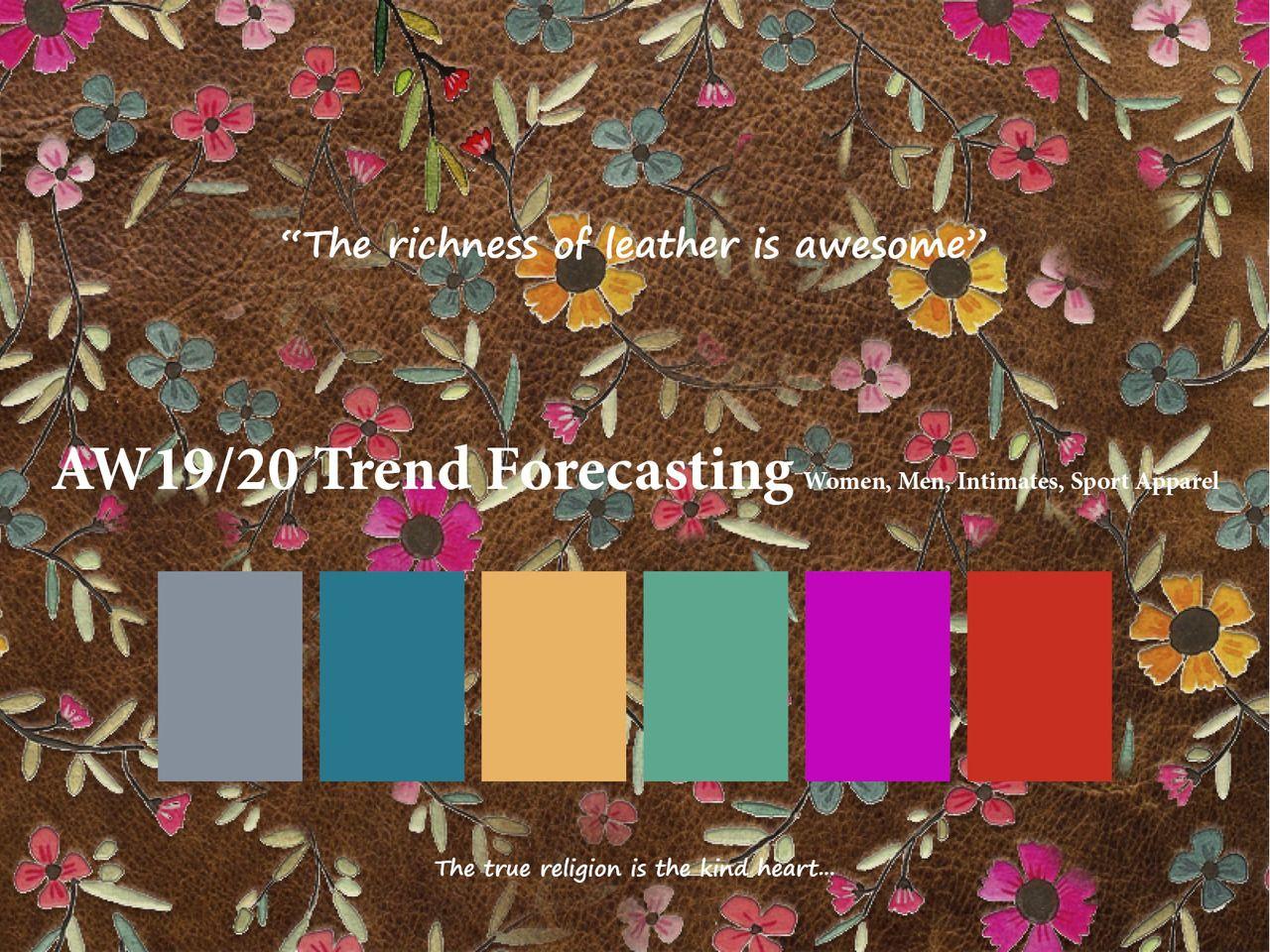 Autumn Winter 2019/2020 Trend Forecasting for Women, Men ...