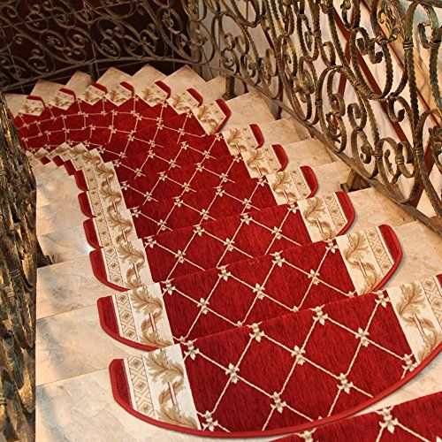 Best Keyama Acrylic Sector Grid Carpet Stair Treads Free Tape 640 x 480