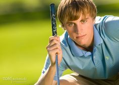 Golf senior picture ideas for girls and guys.