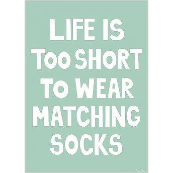 miniwilla socks poster