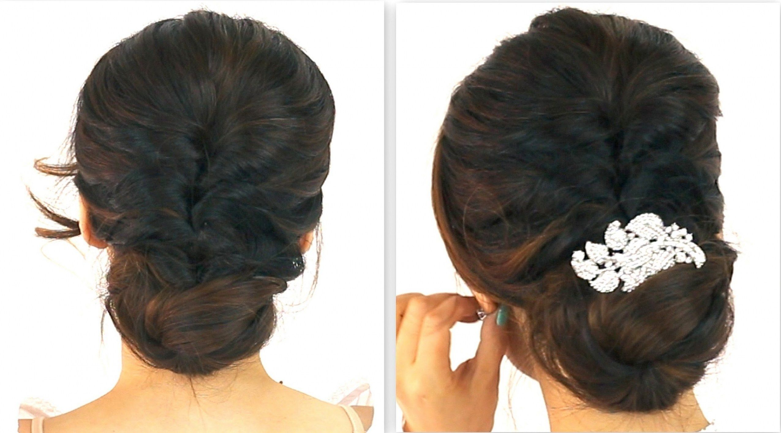 Indian Wedding Party Hairstyles For Short Hair Long Hair Styles Long Hair Ponytail Long Hair Tutorial