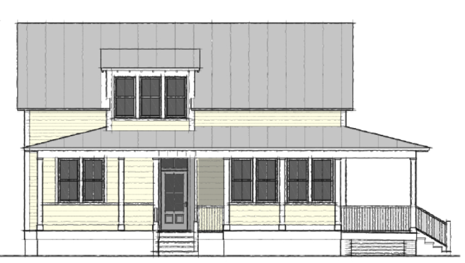 Moser Design Group Tnh Pc 15b Hunting Island Cottage 3 Bed 2 Bath 1 357 Sfmaster Down Small Cottage House Plans Small Cottage Homes Cottage House Plans