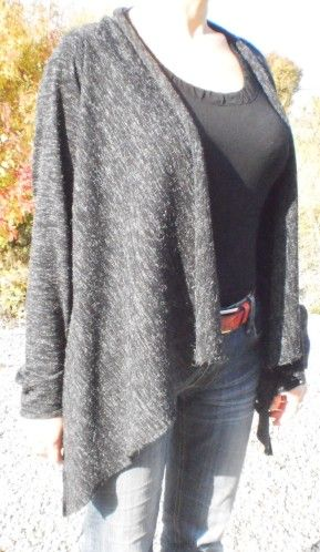 tuto tricot gilet rectangle