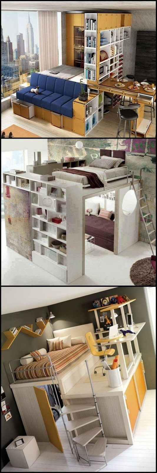 Small space living marriage pinterest house bedroom and home