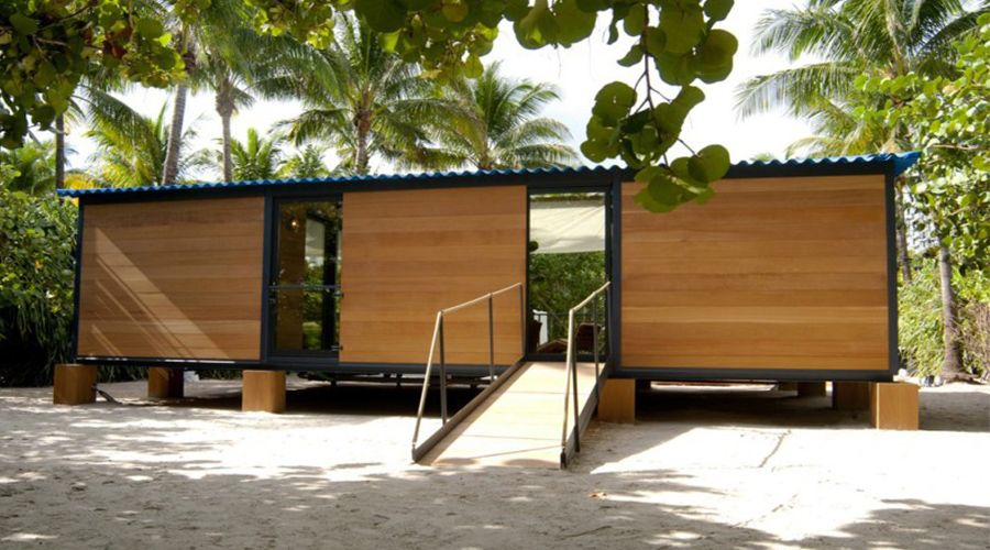 Bungalow Miami louis vuitton delivered this weekend with a modern u shaped