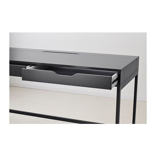 alex bureau blanc 131 x 60 cm ik a id 39 pinterest ik a. Black Bedroom Furniture Sets. Home Design Ideas