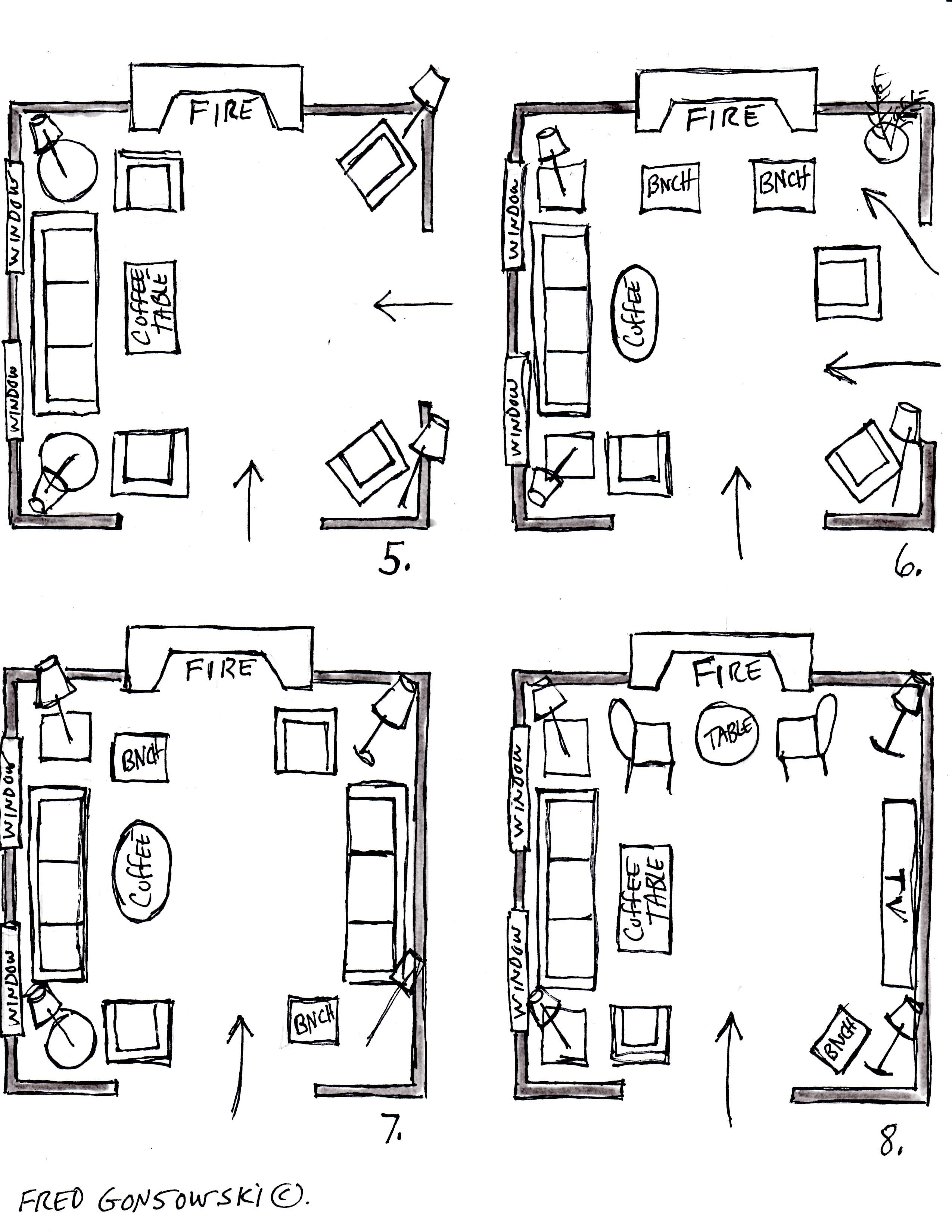 The topic of arranging furniture has been a subject a lot of my ...