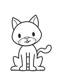 Resultado De Imagen Para Imagen Cat Para Colorear Con Imagenes