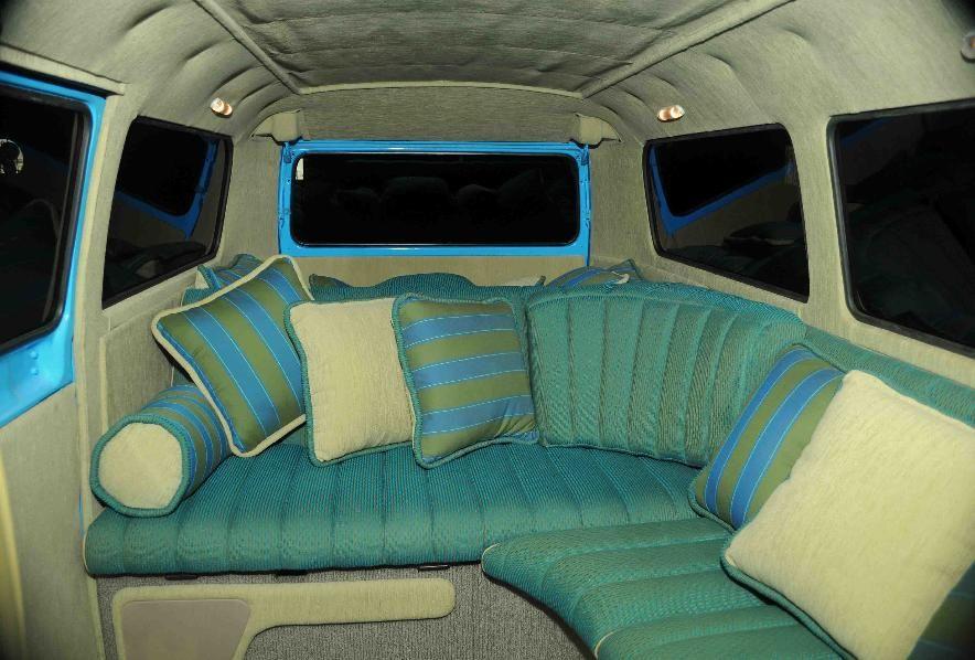 Interior 2 hippy van all my van pinterest vans vw for Vw kombi interior designs
