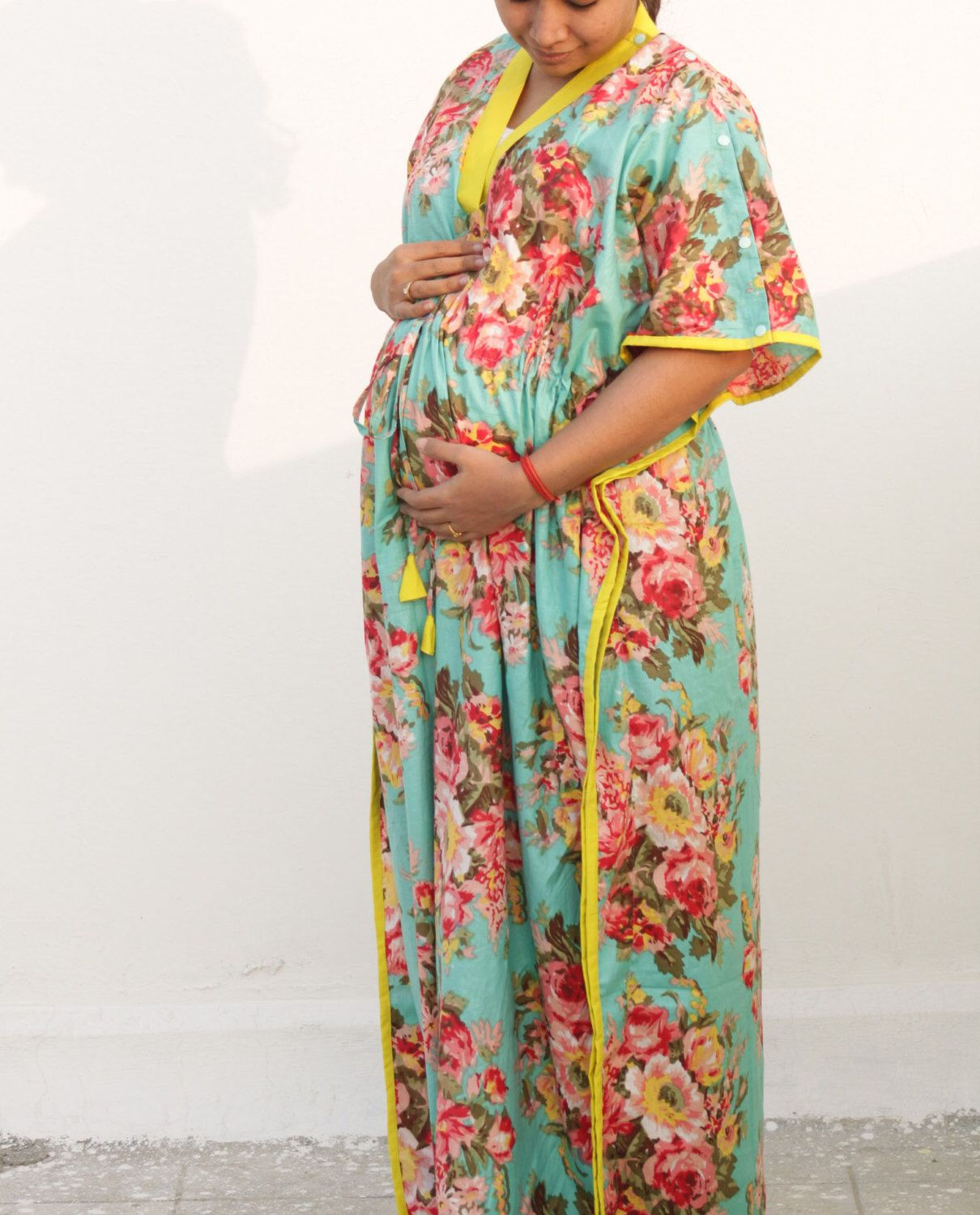 bc834fb497150 Maternity Clothing, Hospital Gown, Labor and Delivery, Nursing Gown, Nursing  Dress,
