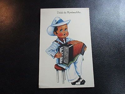 carte postale vintage cpa humour dédé de montmartre par sp france • EUR 3,75