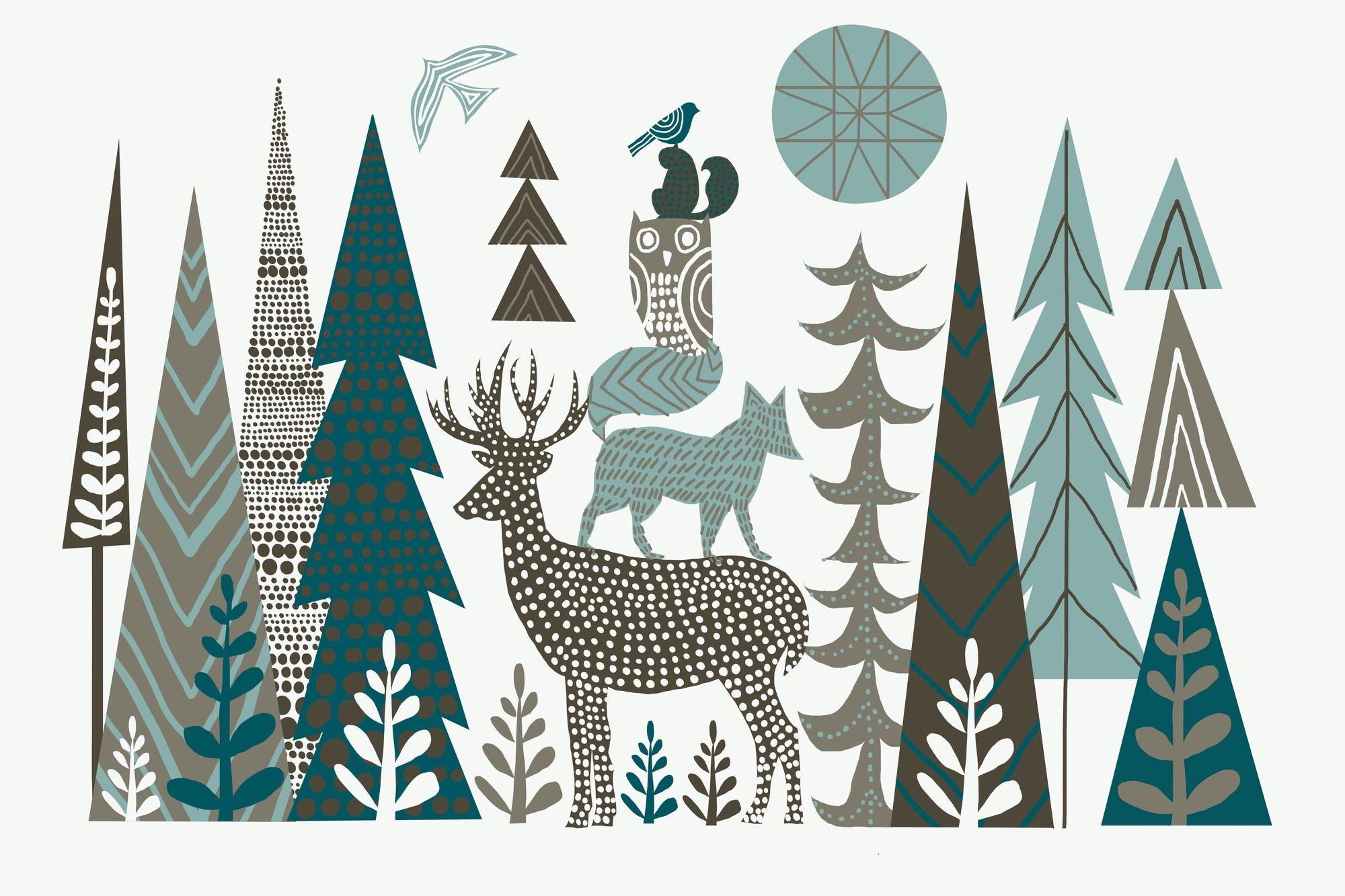Forest Folklore in 2019 Scandinavian folk art, Forest