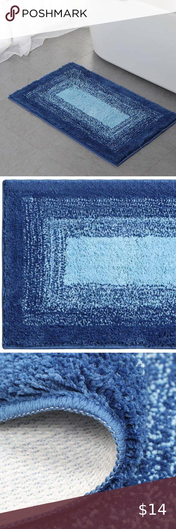 Nwot Bathroom Rug Bath Floor Mats Bathroom Rugs Rugs [ 1740 x 580 Pixel ]