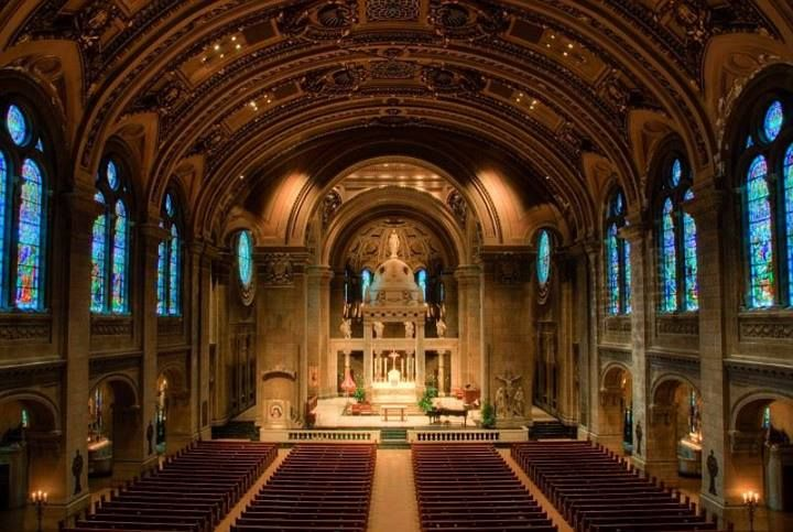 CATHOLIC CHURCH of ST. MARY- Co-Cathedral Basilica of Archdiocese of St.