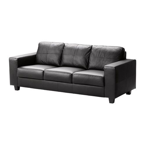 Ikea Us Furniture And Home Furnishings Leather Sofa Bed Black Leather Sofa Bed Black Leather Sofas