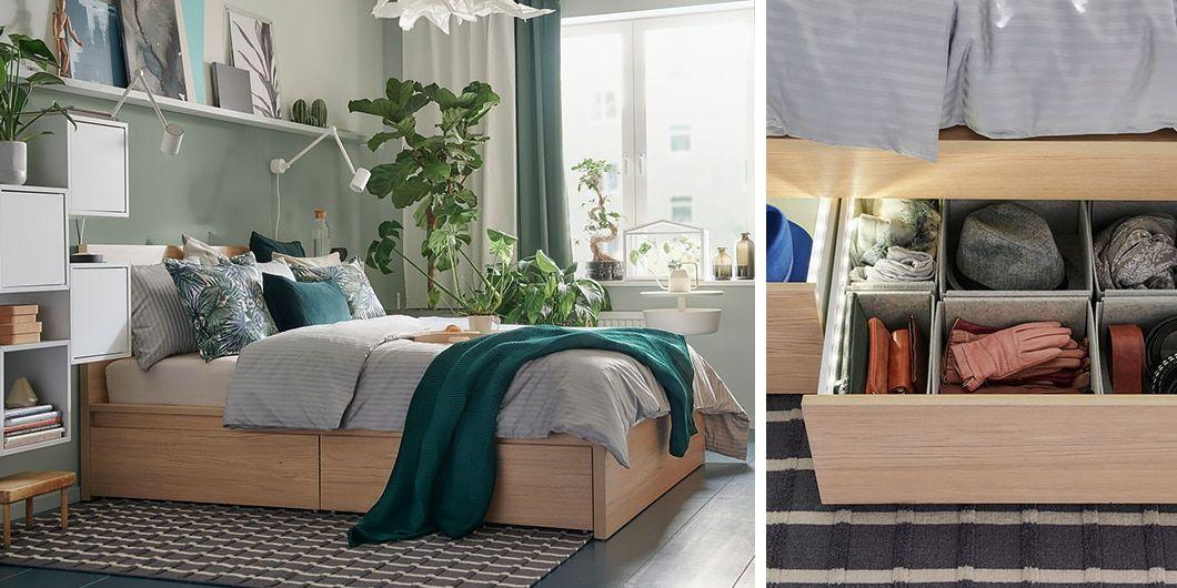 Sypialnia Ikea Pozwól Sobie Na Odpoczynek Pokoik W 2019