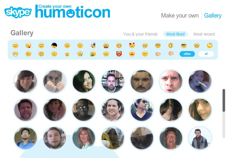 """Nuevos """"Humoticons"""" de Skype"""