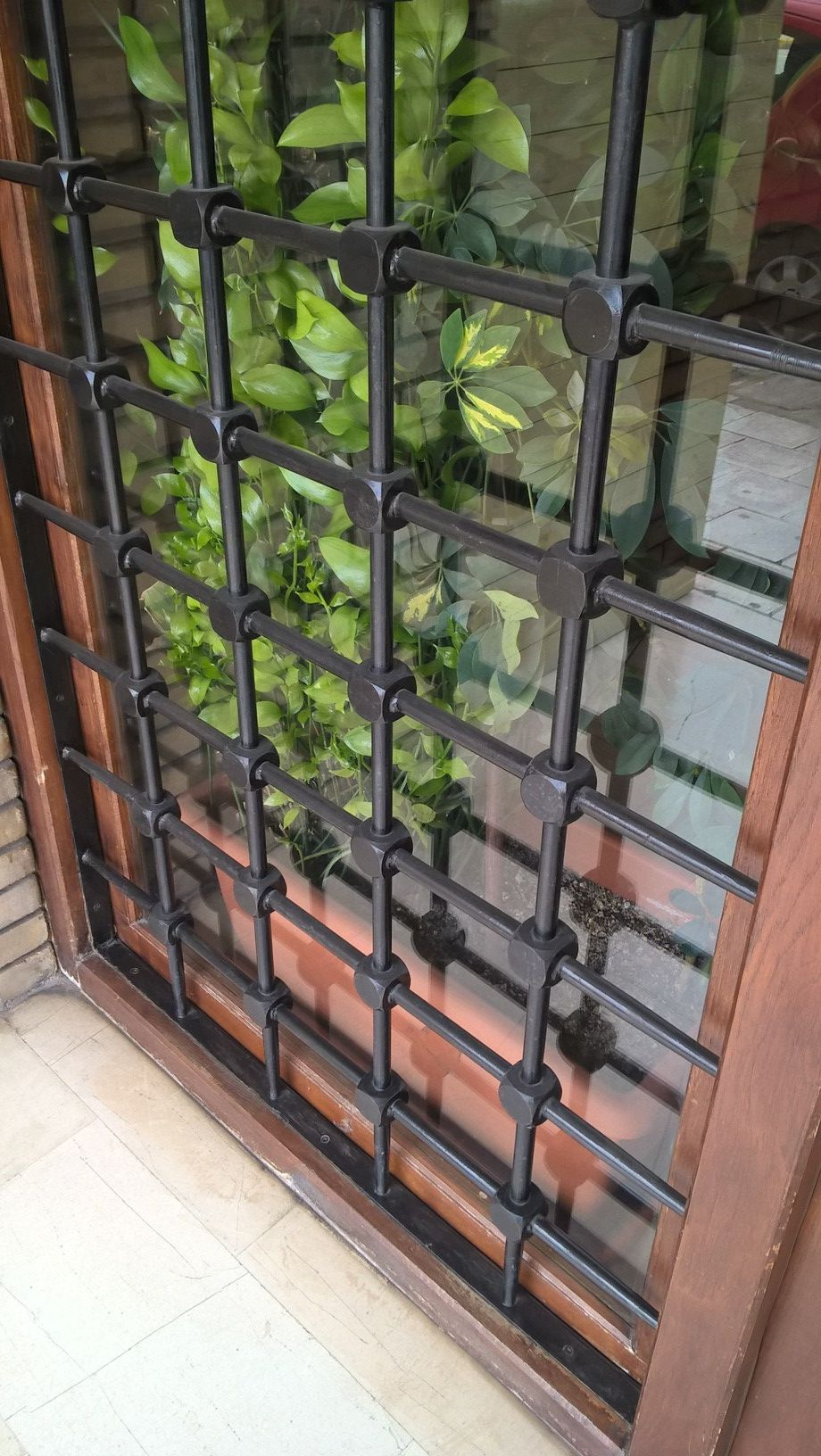 Beautiful grill window Doors and Windows Pinterest
