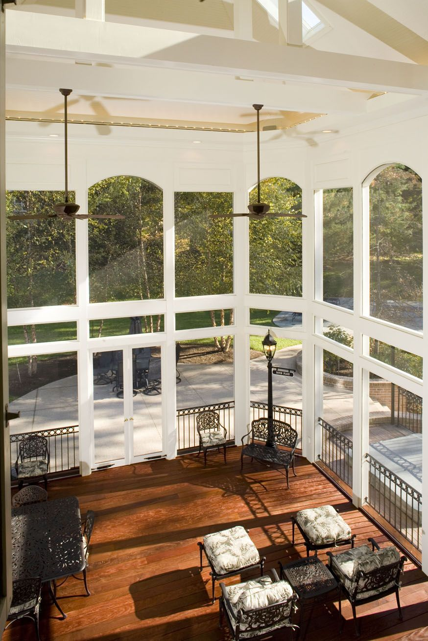 Patio Or Screened Porch: An Open Porch/covered Porch Or
