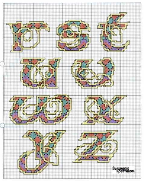 Celtic Knot Alphabet 3 end