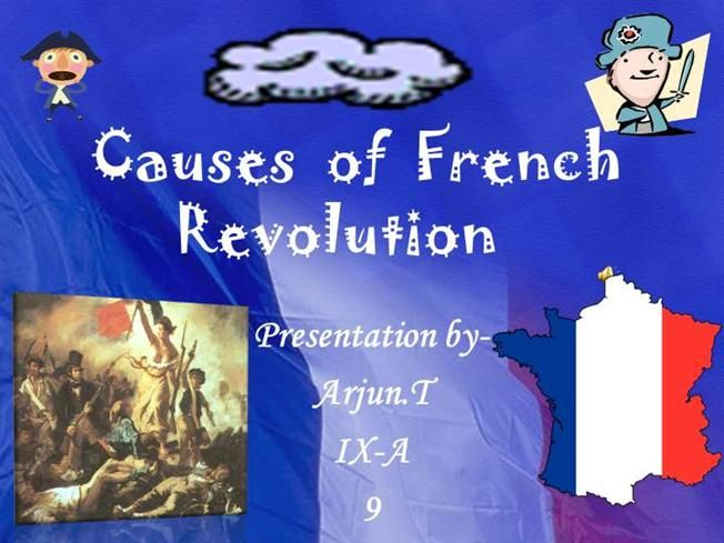 What is a creative title for my essay on the causes of the French Revolution?