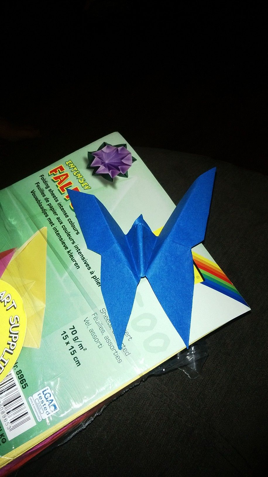 Link I used to make this beautiful blue butterfly :)  http://youtu.be/X4L5nDDgEEk