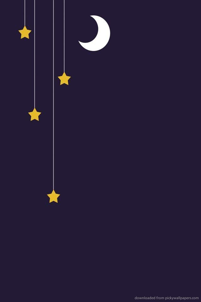 Phone Stars Wallpaper Best Wallpaper Hd Moon And Stars Wallpaper Star Wallpaper Wallpaper Backgrounds