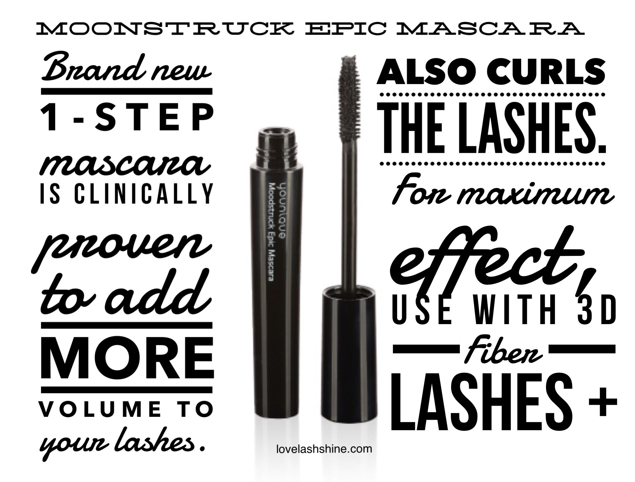 d023637e0cf Younique's new Moonstruck Epic Mascara curls lashes | Younique ...