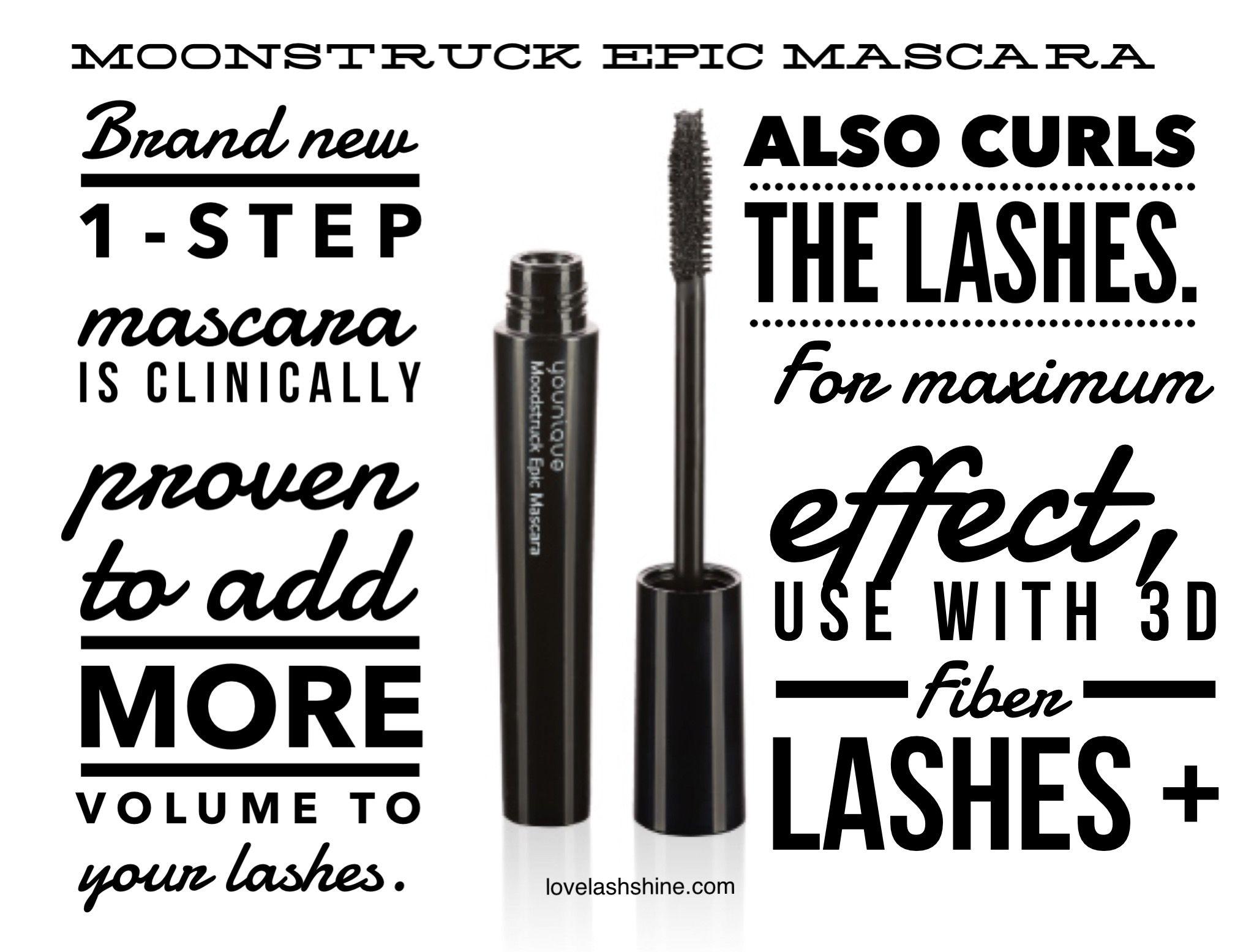 Younique S New Moonstruck Epic Mascara Curls Lashes