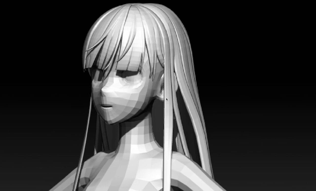 3d Anime Hair Modelling Tutorial Blender Commented Version